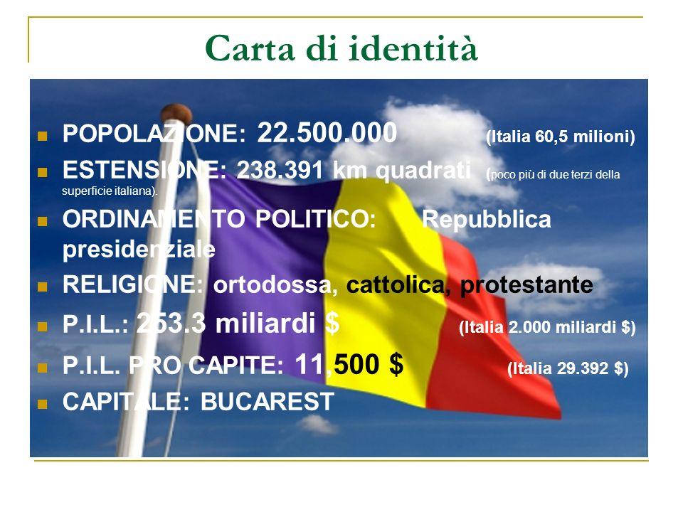 Carta di identità POPOLAZIONE: 22.500.000 (Italia 60,5 milioni) ESTENSIONE: 238.391 km quadrati ( poco più di due terzi della superficie italiana). OR