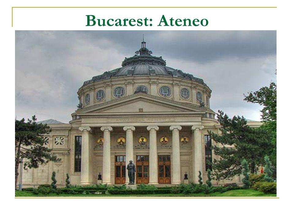Bucarest: Ateneo
