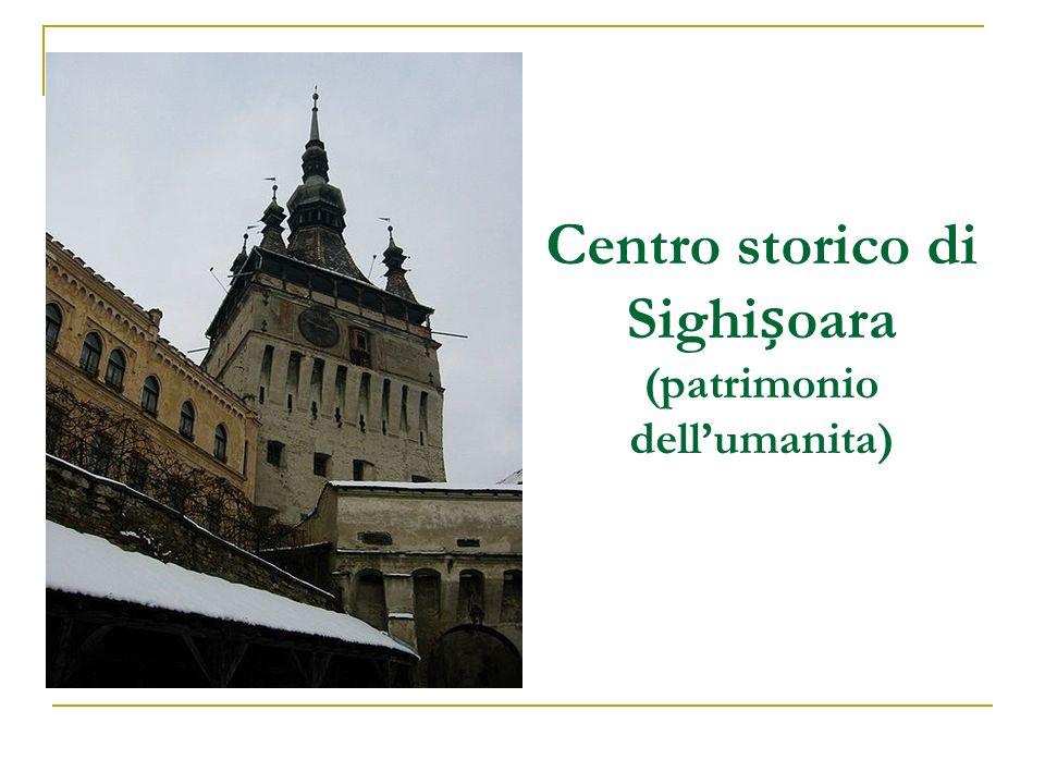 Centro storico di Sighioara (patrimonio dellumanita)