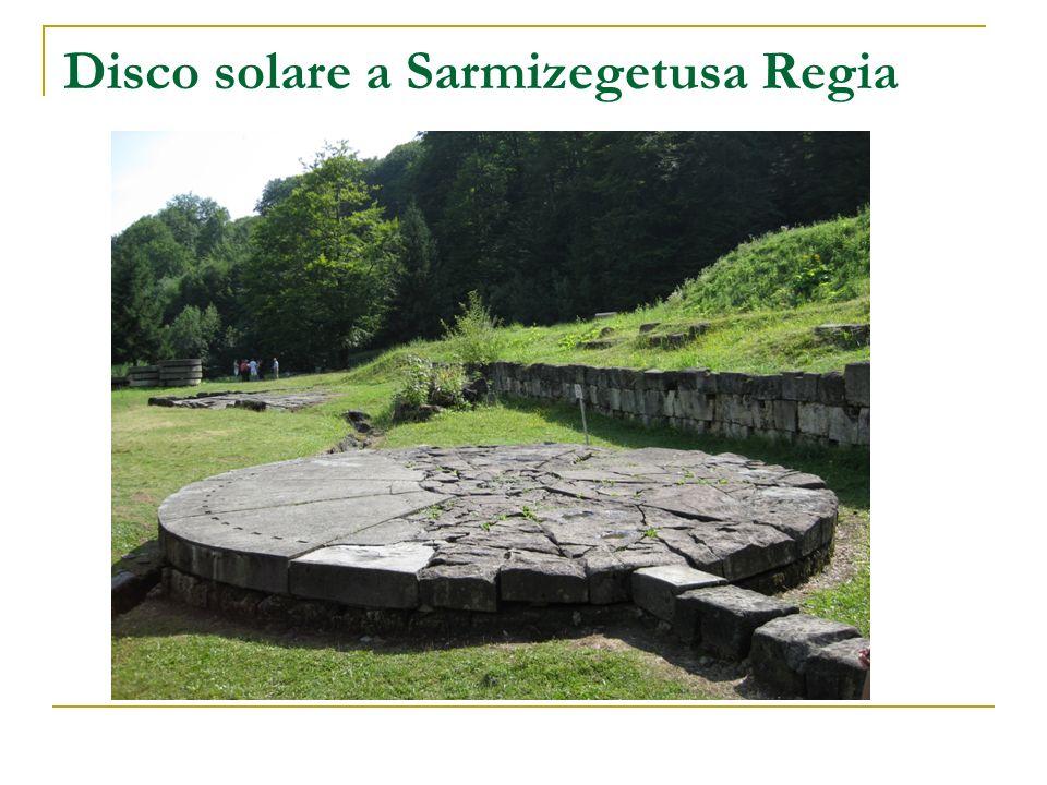 Disco solare a Sarmizegetusa Regia