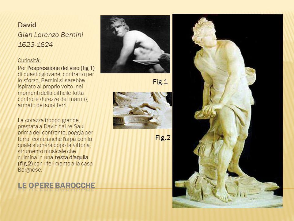 Ratto di Proserpina Gian Lorenzo Bernini 1621-1622 Tema: Plutone, potente dio e re degli Inferi rapisce Proserpina, figlia di Cerere.