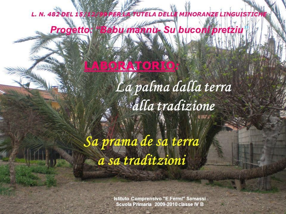 La domenica delle Palme è quella che precede la Pasqua.