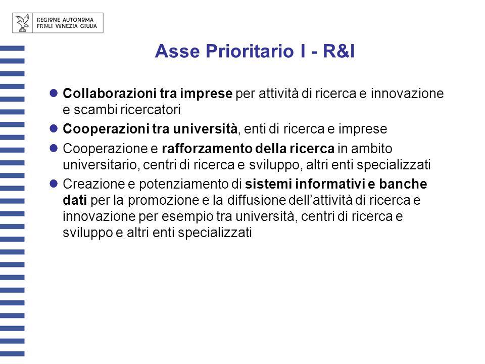 Collaborazioni tra imprese per attività di ricerca e innovazione e scambi ricercatori Cooperazioni tra università, enti di ricerca e imprese Cooperazi