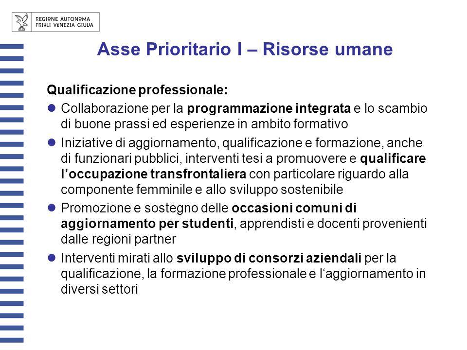 Qualificazione professionale: Collaborazione per la programmazione integrata e lo scambio di buone prassi ed esperienze in ambito formativo Iniziative