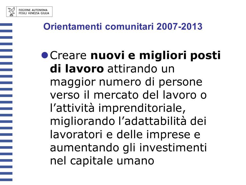 Il PO Interreg IV C Italia-Austria