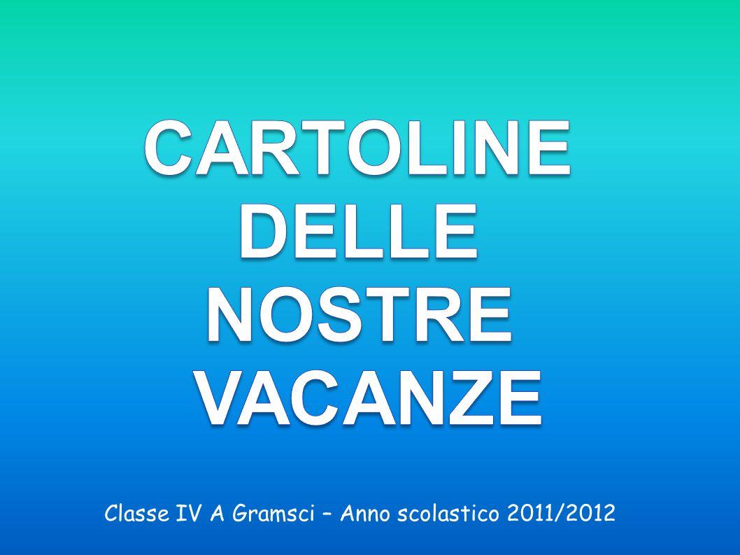 Classe IV A Gramsci – Anno scolastico 2011/2012