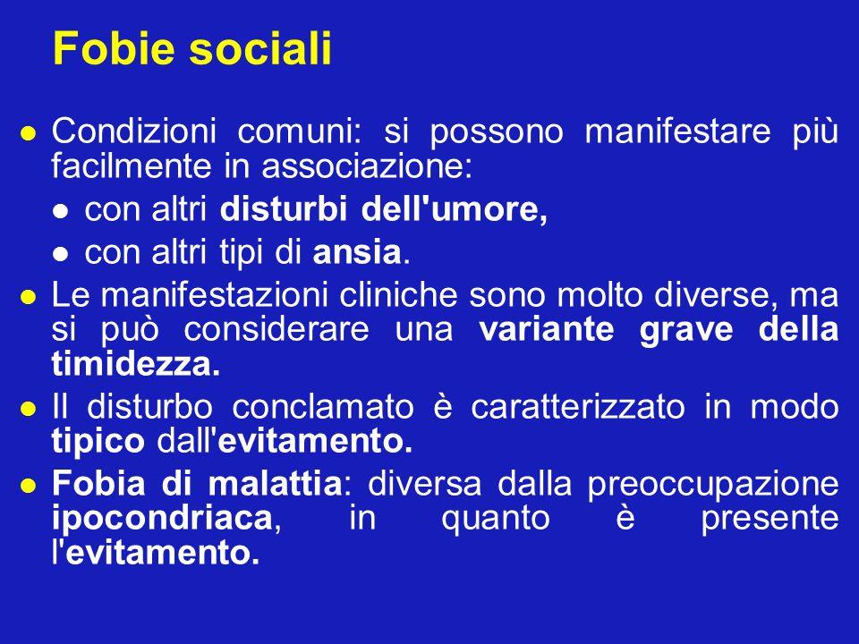 Criteri per la fobia (Marks, 1969) 1.
