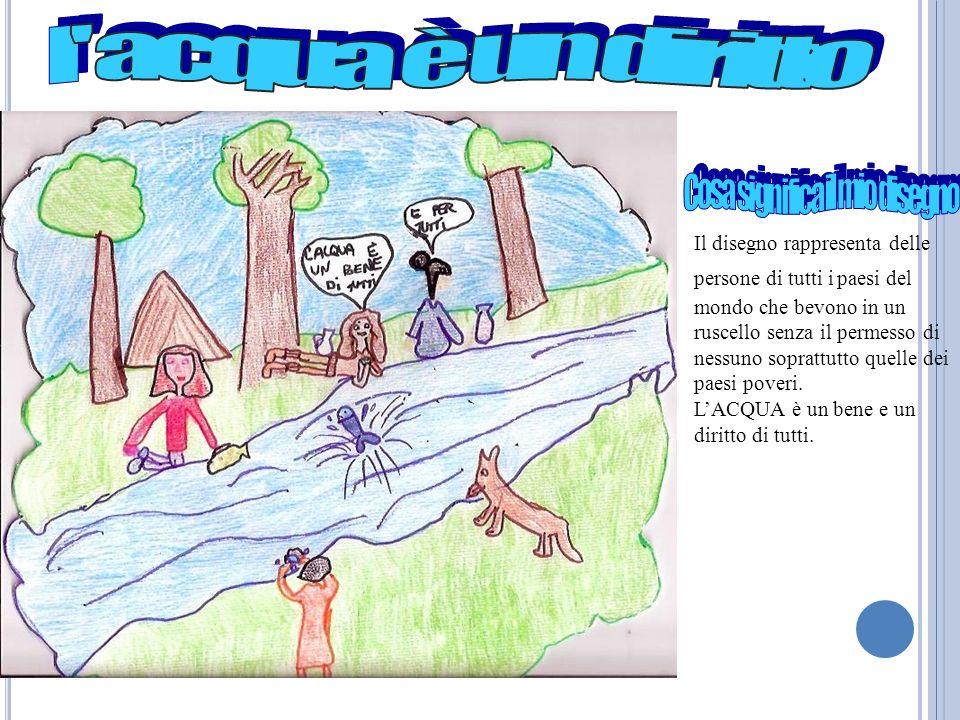 Lacqua è un bene prezioso e va risparmiata perché senza acqua non cè vita.