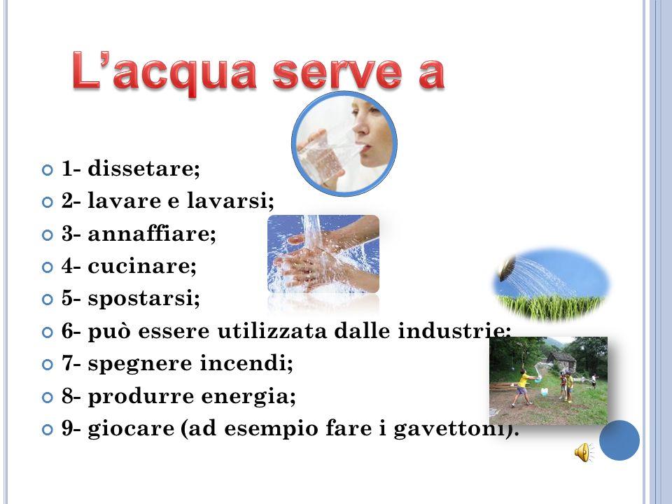 Nonostante la presenza di pozzi, acquedotti, controlli e fognature, noi italiani siamo il popolo che beve più acqua minerale al mondo; 7/10 di noi pre