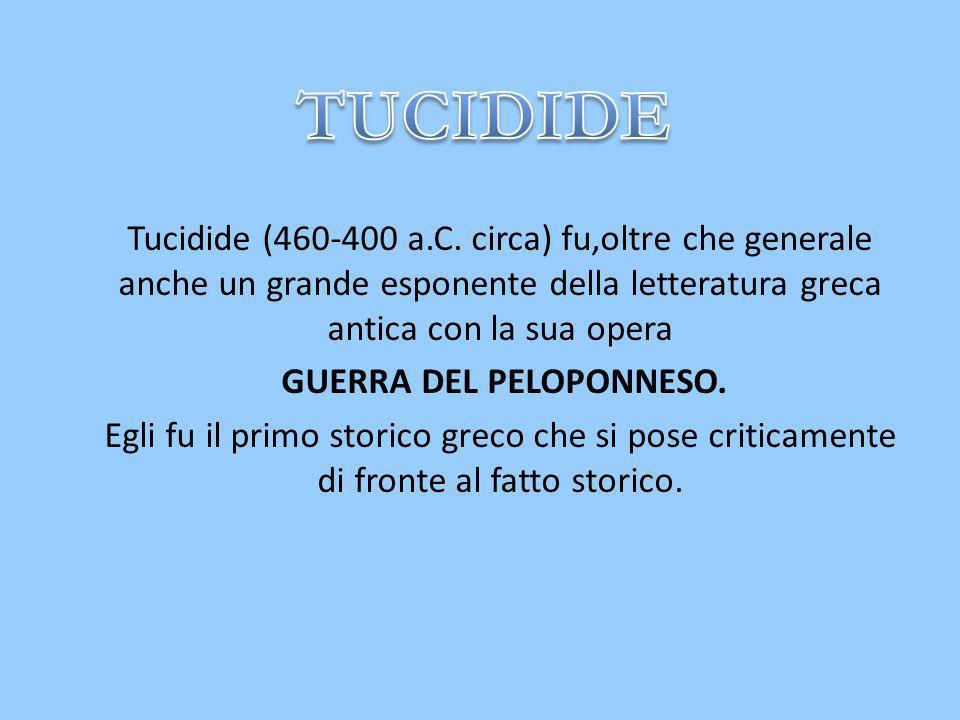 Tucidide (460-400 a.C.