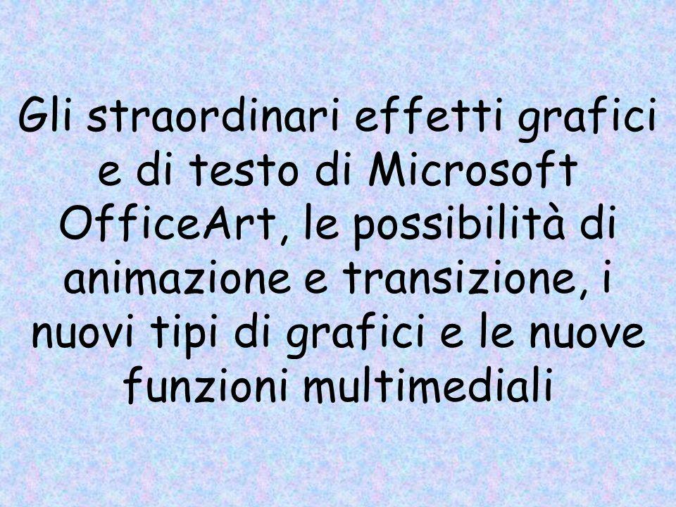 Microsoft PowerPoint è un programma di grafica per presentazioni che fornisce, al singolo e al gruppo, tutti gli strumenti per organizzare ed esprimer