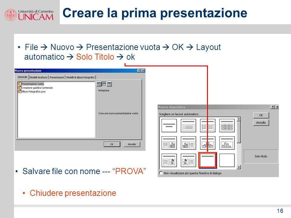 15 Formato Layout diapositiva combinazione colori diapositiva sfondo applica modello struttura Colori e linee Oggetto Strumenti Opzioni Presentazione