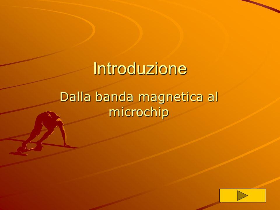 IntroduzioneIntroduzione: dalla banda magnetica… Introduzione La crittografia La crittografia La firma elettronica La firma elettronica I sistemi di p