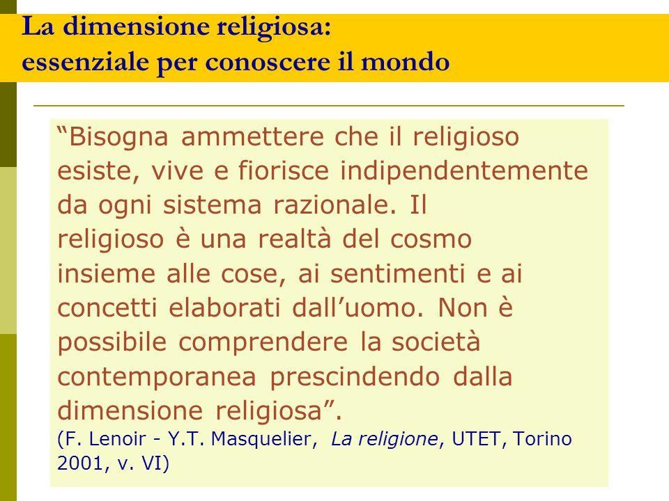 Cosa hanno in comune le religioni.1. Esiste Qualcuno o Qualcosa oltre.