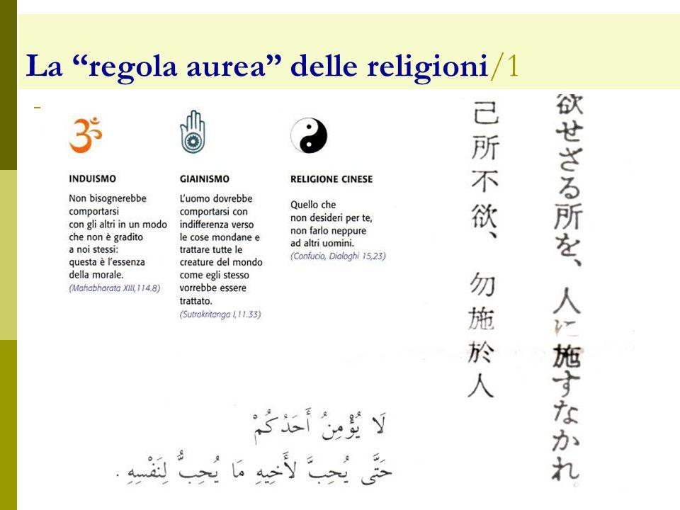 La regola aurea delle religioni/1