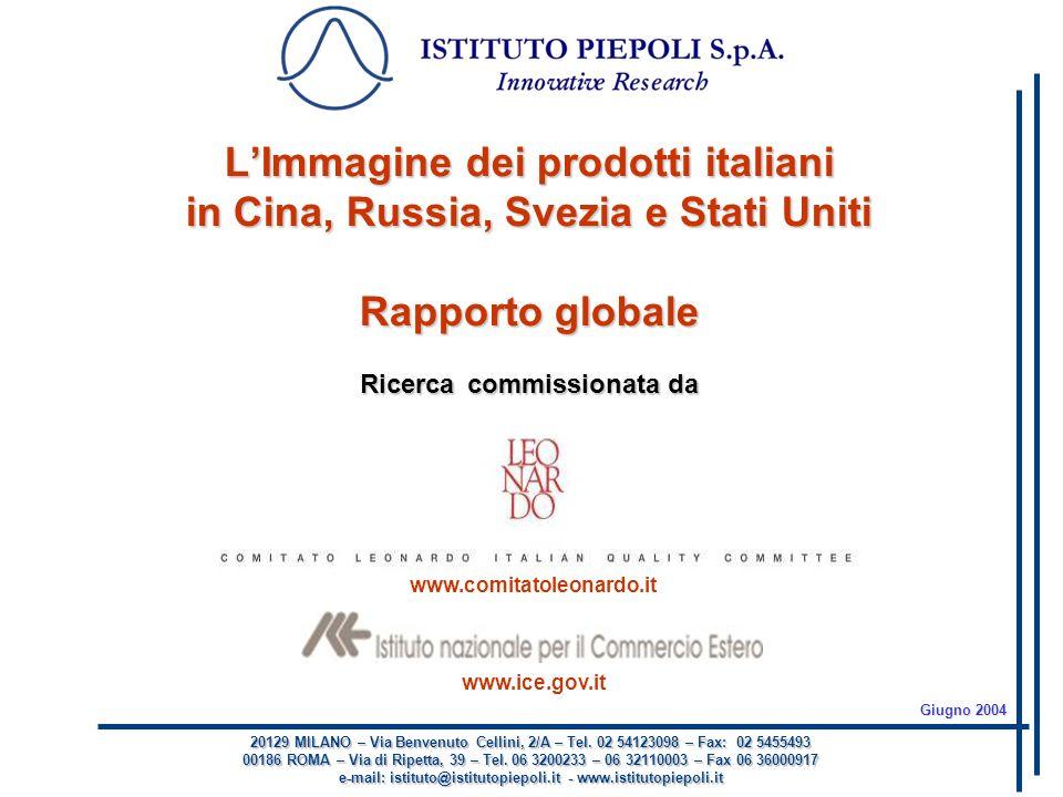 20129 MILANO – Via Benvenuto Cellini, 2/A – Tel. 02 54123098 – Fax: 02 5455493 00186 ROMA – Via di Ripetta, 39 – Tel. 06 3200233 – 06 32110003 – Fax 0