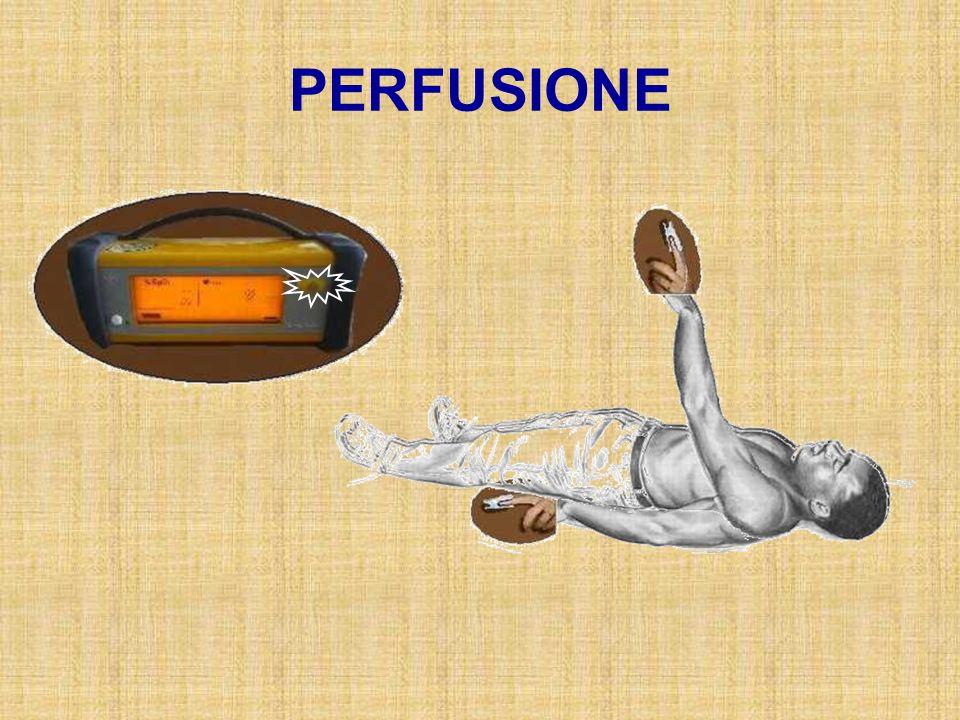 21 % P i O 2 = 713 x FiO 2 P A O 2 = PiO 2 – 1.25 * PCO 2 OO2OO2 OO2OO2 OO2OO2 CO 2 150 mmHg 100 mmHg Frazione inspirata di Ossigeno FiO 2 Pressione inspiratoria di O 2 PiO 2 Pressione alveolare di O 2 P A O 2