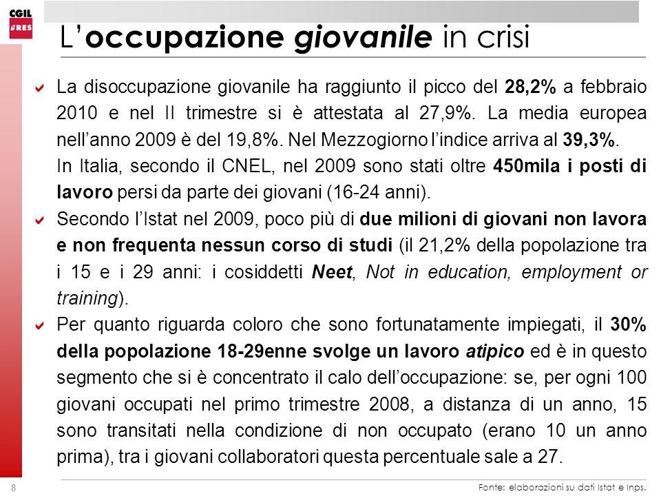 29 Fonte: elaborazioni su dati Istat.