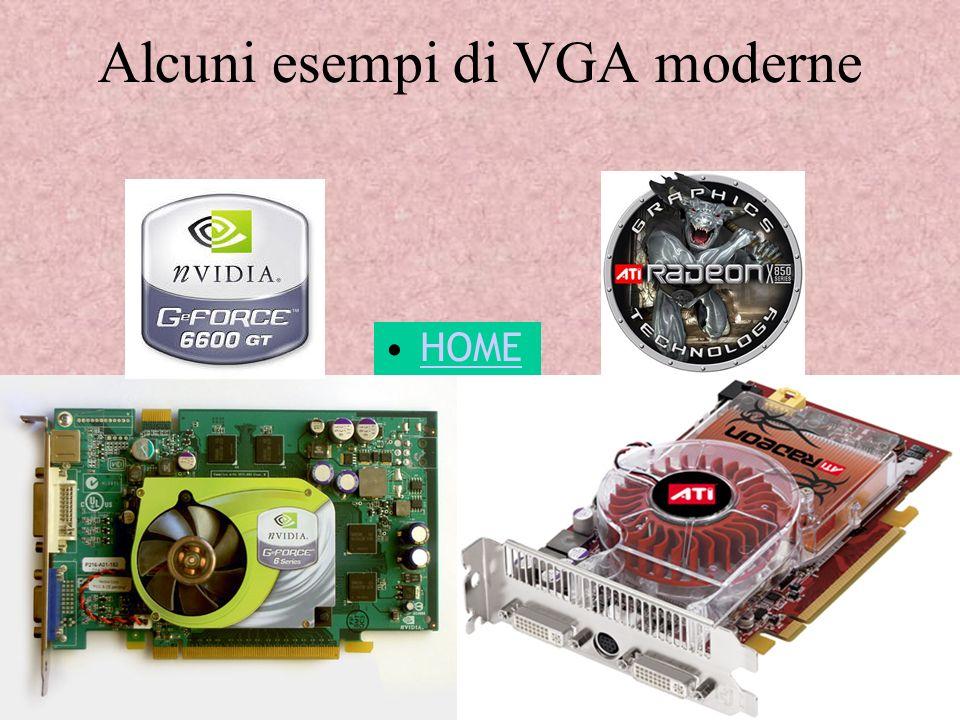 Alcuni esempi di VGA moderne HOME