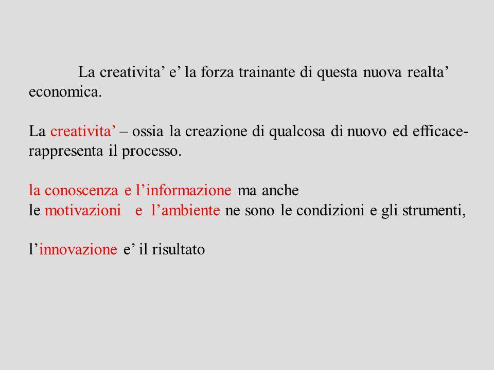 La crescita delleconomia creativa secondo Richard Florida