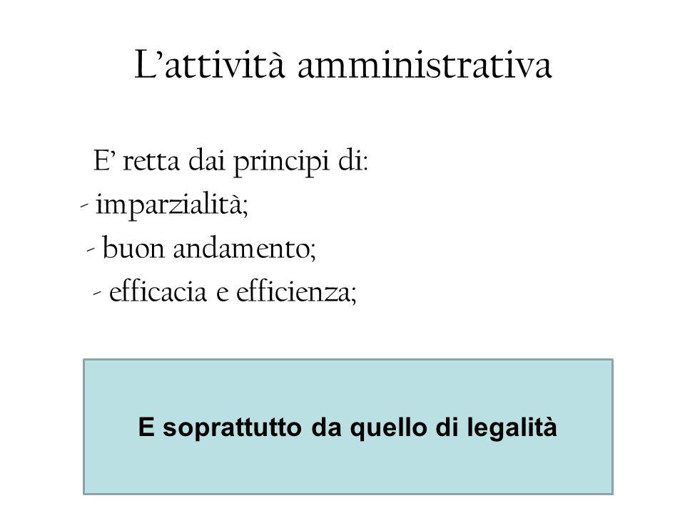 Per agire la pubblica amministrazione è dotata di POTERE –Il potere autoritativo/unilaterale della p.a.