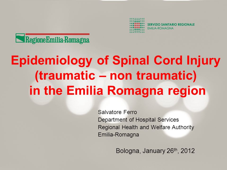 Long Term Health Care and Social Assistance For persons with outcome of Acquired Brain Injury – Spinal Cord Injury and other Neurological Impairments (ALS – amiotrophic lateral sclerosis ect.) ; Clinical evaluation by the territorial multiprofessional team (Physiatrist – Social worker, General Practioner, Nurse of the Home Care equipe); Supported Long Term Home Care (persons assisted by check – home care – home adaptation - comfort admissions – psycological support); Dedicated Residential Long Term Care in esxtra-hospital structures (residences or centers for disabled persons) –Dedicated structures for person with acquired severe disabilities; –Dedicated unit in residence for aged persons or for disabled persons; –Individual entry in residential structures.