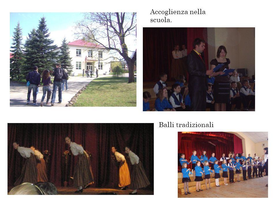 Accoglienza nella scuola. Balli tradizionali