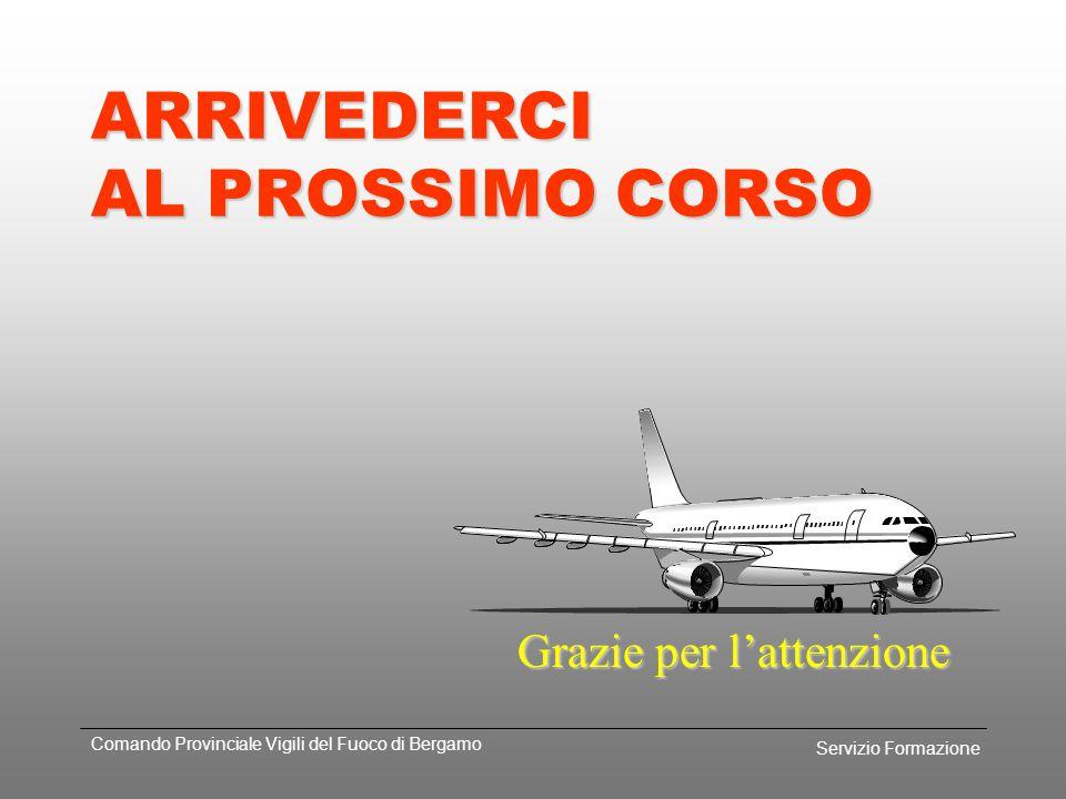 Servizio Formazione Comando Provinciale Vigili del Fuoco di Bergamo RIASSUMENDO... Durante lemergenza segnalare sempre via radio alla TWR fatti e situ