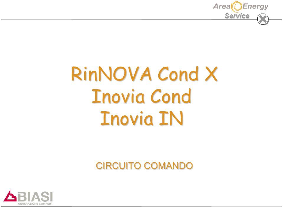 Service RinNOVA Cond X Inovia Cond Inovia IN CIRCUITO COMANDO RinNOVA Cond X Inovia Cond Inovia IN CIRCUITO COMANDO
