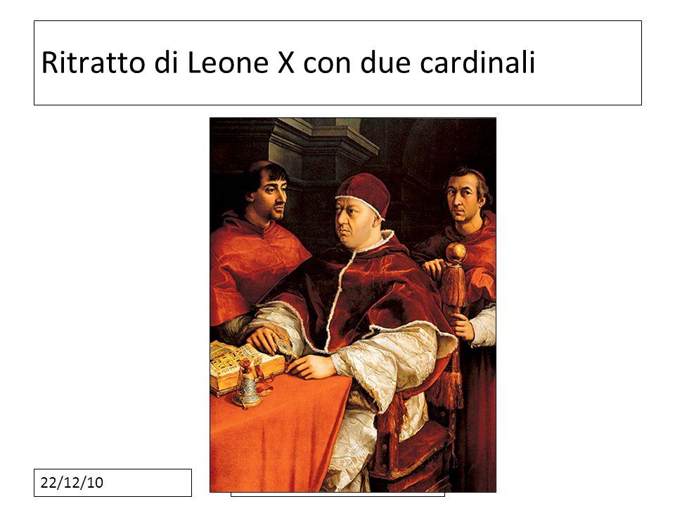 22/12/10 Ritratto di Leone X con due cardinali