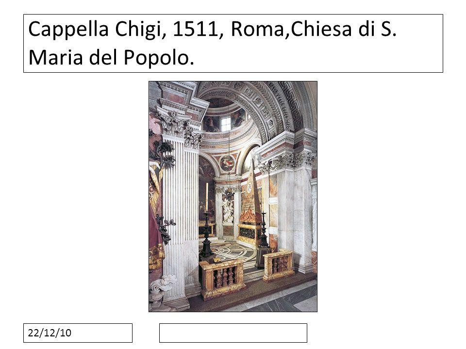 22/12/10 Cappella Chigi, 1511, Roma,Chiesa di S. Maria del Popolo.