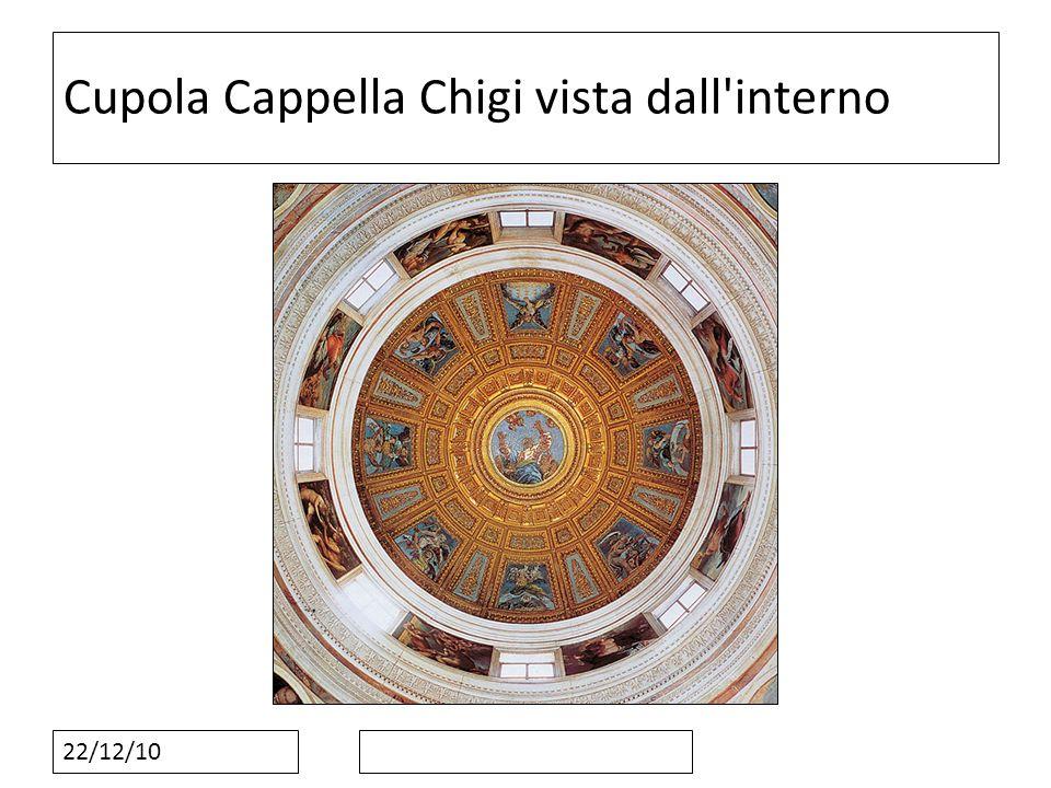 22/12/10 Cupola Cappella Chigi vista dall'interno