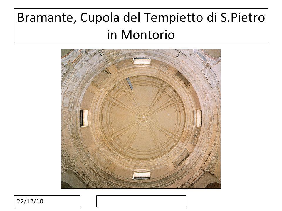 22/12/10 Bramante, Cupola del Tempietto di S.Pietro in Montorio