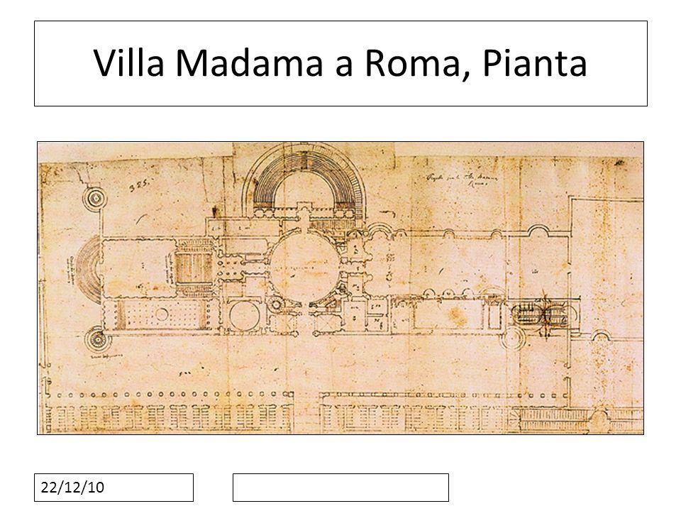 22/12/10 Villa Madama a Roma, Pianta