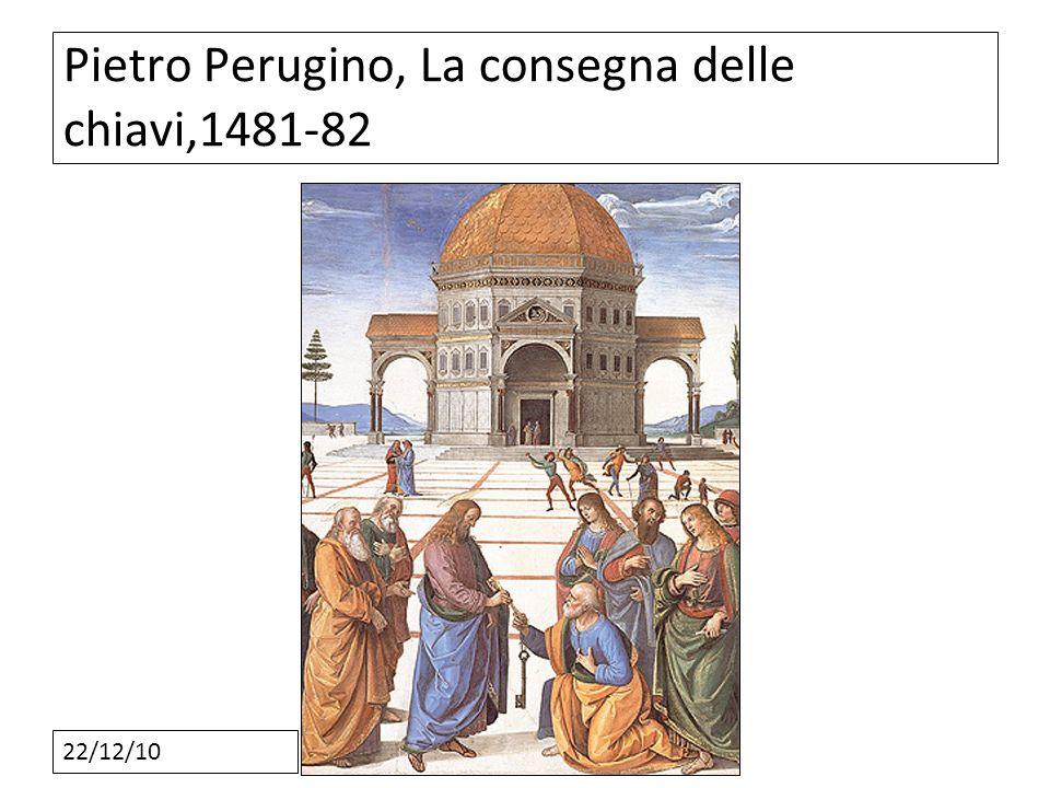 22/12/10 Pietro Perugino, La consegna delle chiavi,1481-82