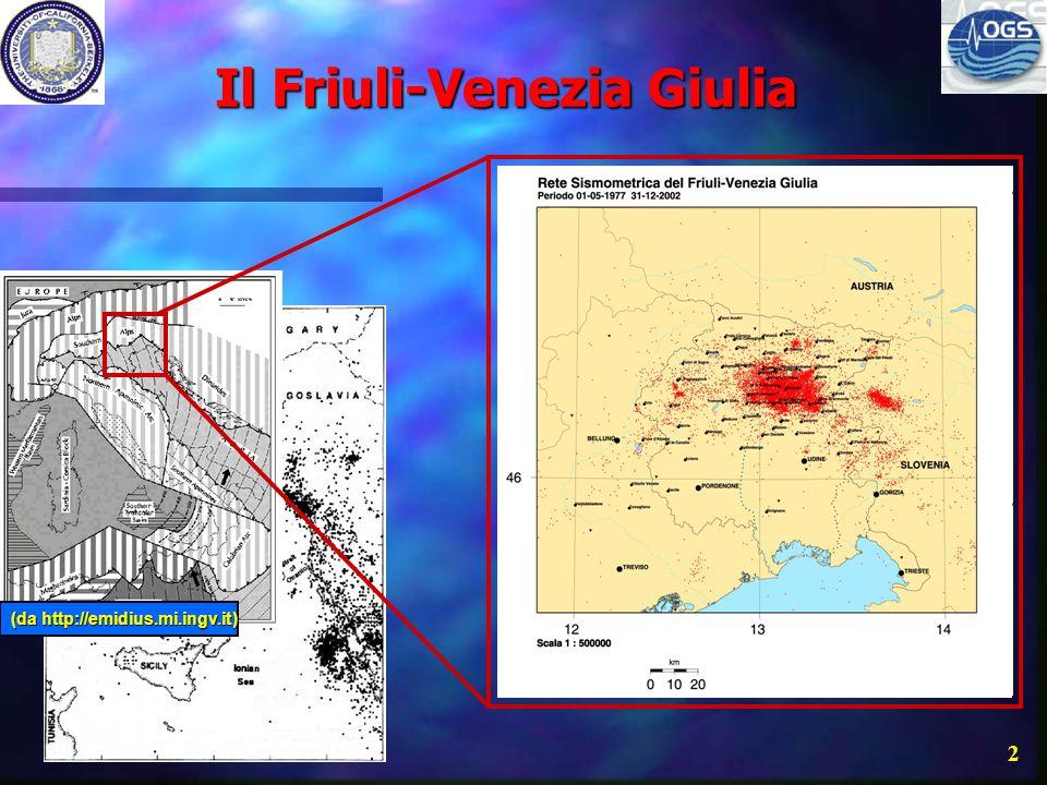 FReDNet: Friuli Regional Deformation Network FReDNet: Una rete di ricevitori GPS per la valutazione del potenziale sismico nelle Alpi sudorientali ita