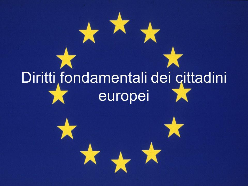 Diritti fondamentali dei cittadini europei
