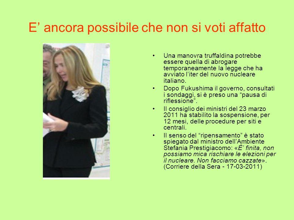 Il vecchio nucleare italiano