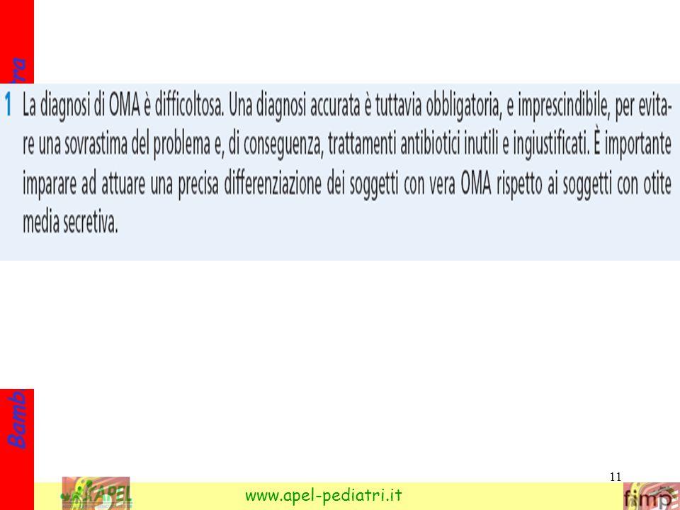 11 Bambini e otite: cosa fa il pediatra www.apel-pediatri.it