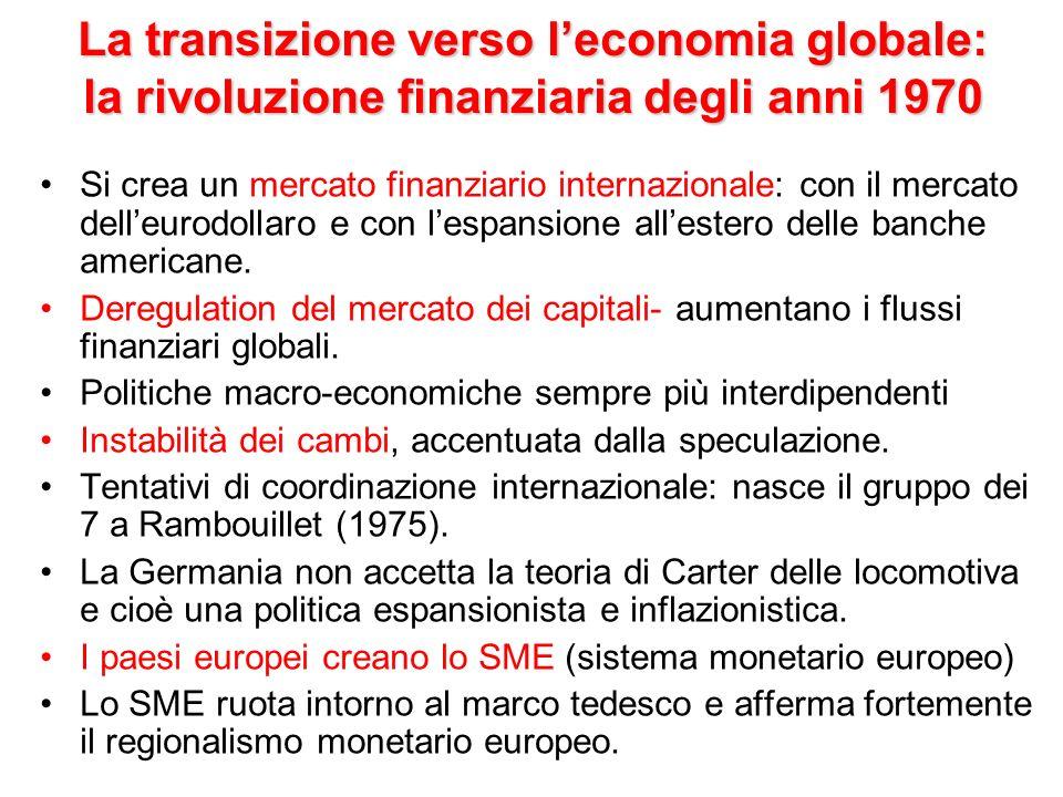 Nuove dottrine economiche La fine dellortodossia keynesiana.