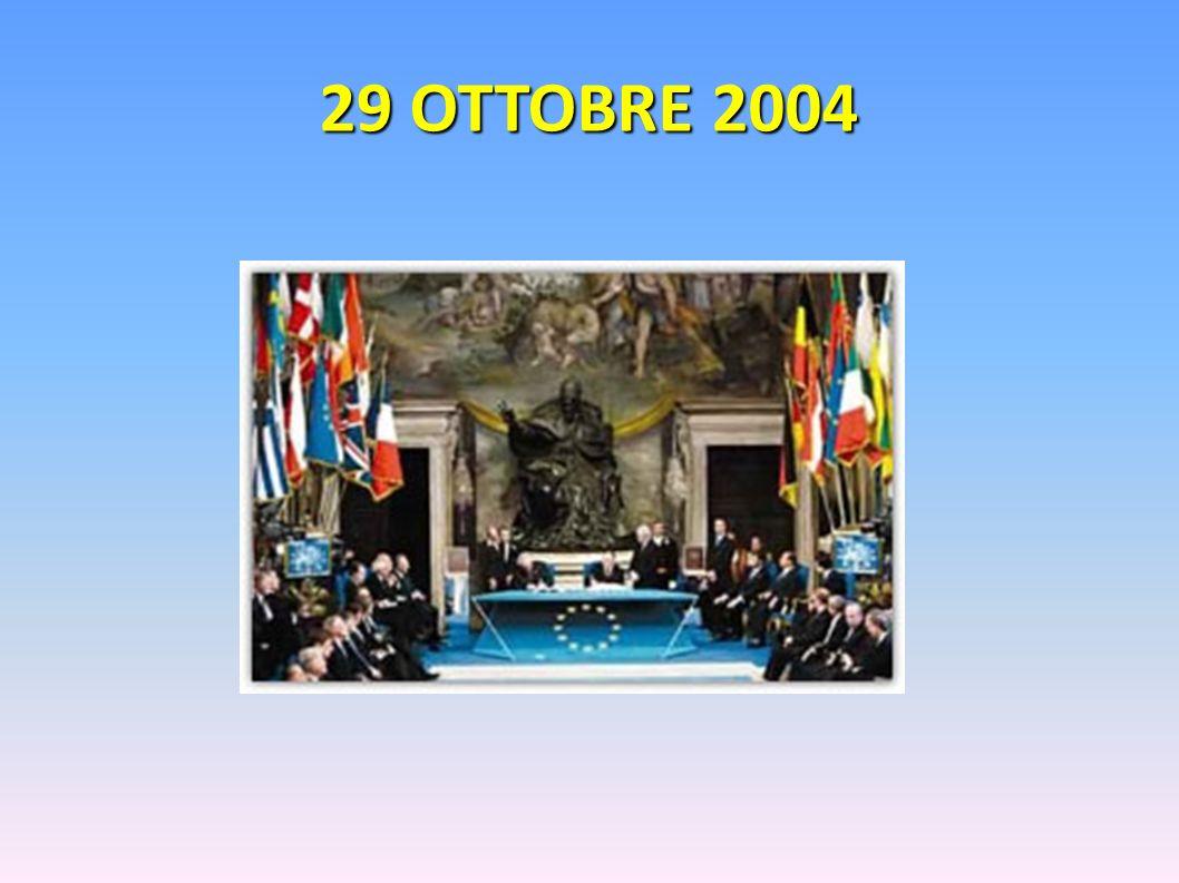 29 OTTOBRE 2004