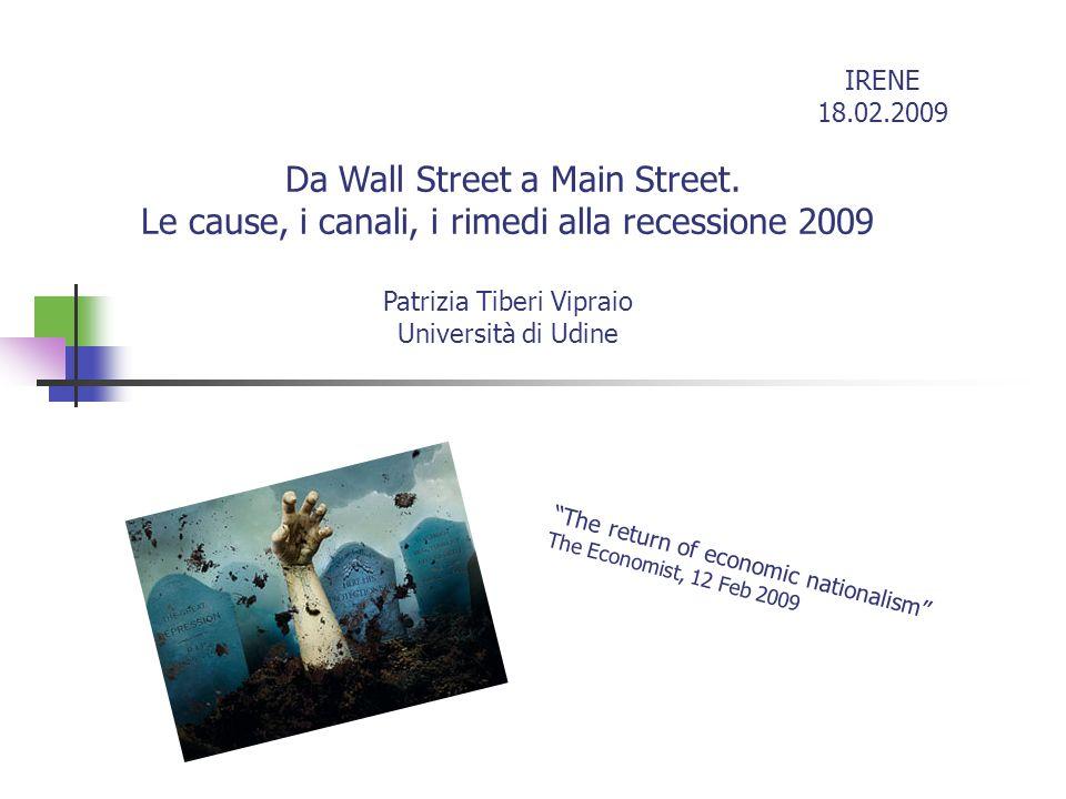 Da Wall Street a Main Street.