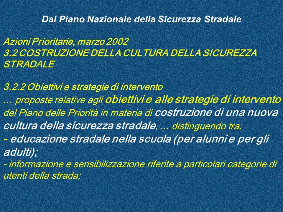 6) Rivolgersi agli adolescenti come a un gruppo a rischio 7) Promuovere il coinvolgimento dei genitori 8) Obiettivo a lungo termine: raggiungere tutti