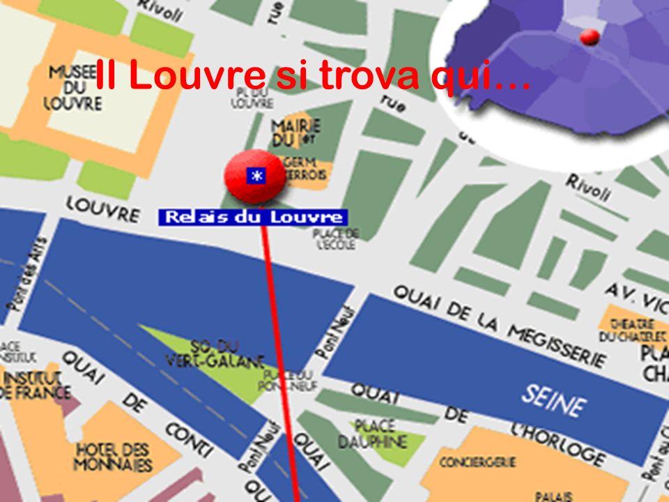Il Louvre si trova qui…