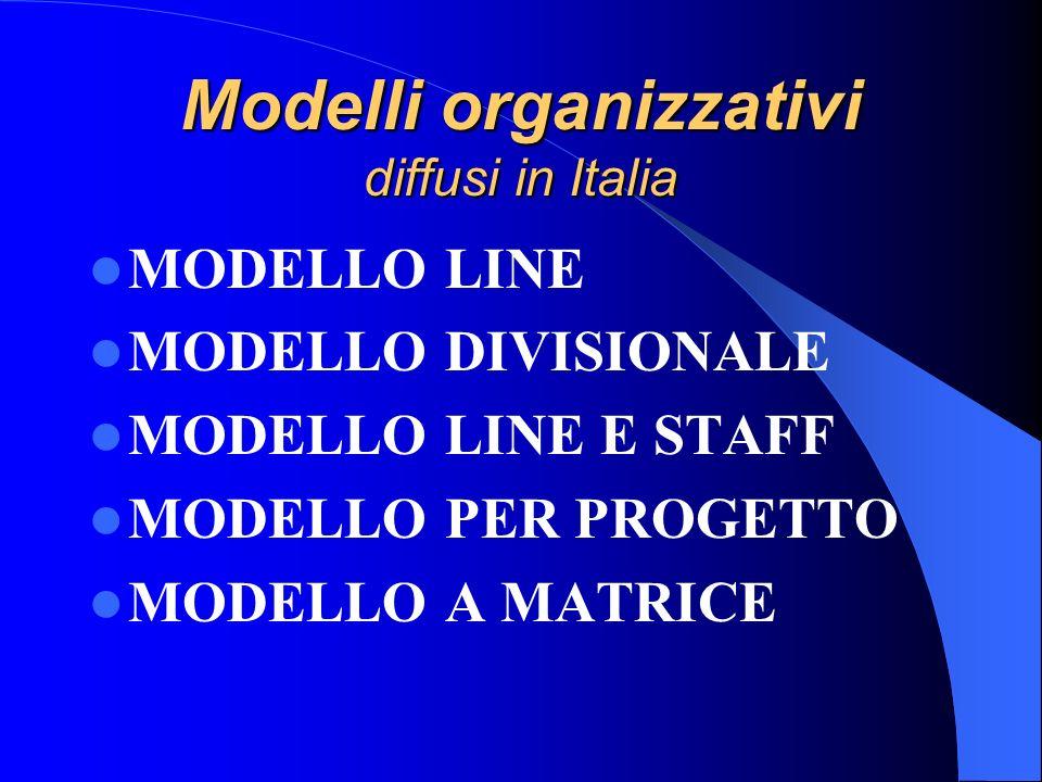 Struttura organizzativa Rappresenta linsieme di rapporti, comunicazioni, processi decisionali e procedure, atto ad integrare funzioni, risorse umane e