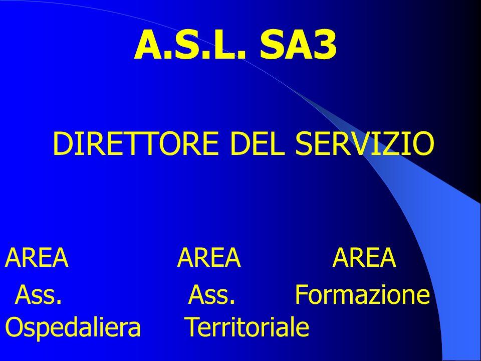 Modello organizzativo:Line e Staff; DIRETTORE DEL SERVIZIO INFERMIERISTICO Coordinatore Infermieristico di Dipartimento Coordinatore Infermieristico d