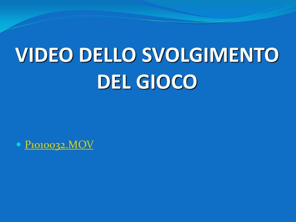 VIDEO DELLO SVOLGIMENTO DEL GIOCO P1010032.MOV