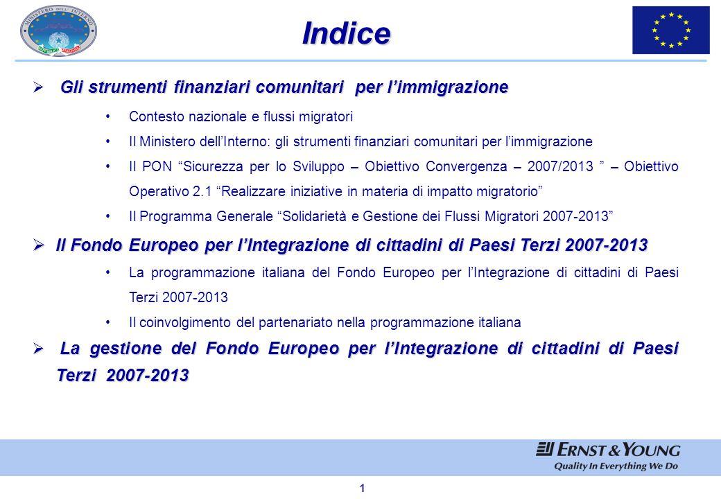 Marzo 2008 Ministero dellInterno Dipartimento per le Libertà Civili e lImmigrazione Lutilizzo dei Fondi Europei per le politiche di integrazione Relat