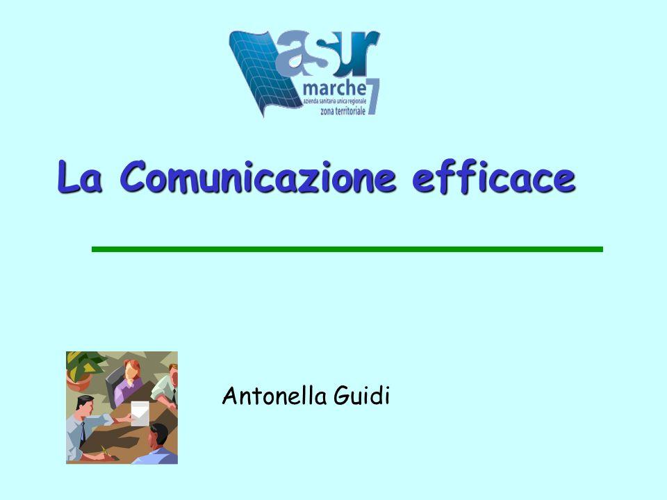 La Comunicazione efficace Antonella Guidi