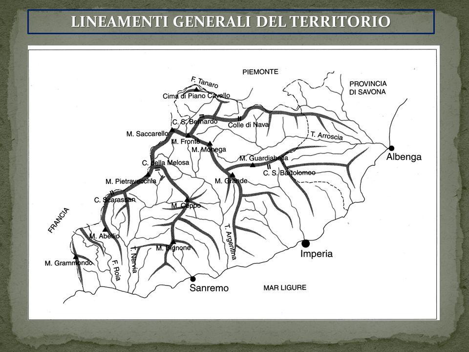 LINEAMENTI GENERALI DEL TERRITORIO